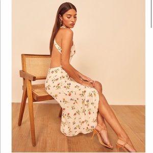 Reformation | Harlem Floral Print Midi Dress